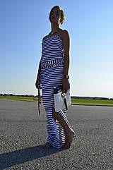 Šaty - dlhé coccomo šaty - 4184134_