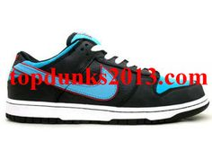 brand new 6e018 744dd Good Angel Devil Black baltic Blue Nike Dunk Low Premium SB
