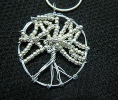 Make a Beaded Wire Tree of Life