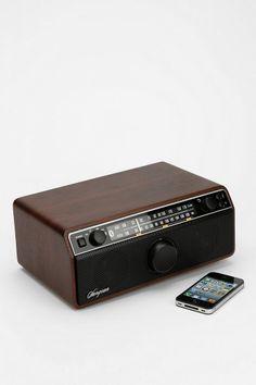 Sangean WR-12BT Wooden Cabinet Speaker