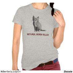 Killer Cat Tee Shirts