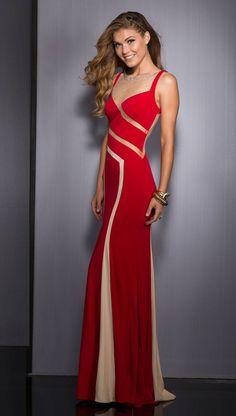 Clarisse Long Formal Dress 2563 | Promgirl.net