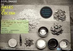 Diplomado de bases de cocina / Culinaria Pangea / Mty / 5 may al 21 Jul