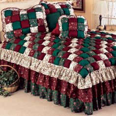 Josephine Puff Quilt Bedspreads And Accessories Bedding