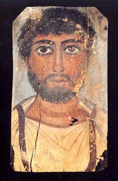 H AΝΑΜΕΝΟΜέΝΗ: 62 πορτρέτα του Φαγιούμ από τον τόμο Fayum: misteriosi volti dall'Egitto, 1997