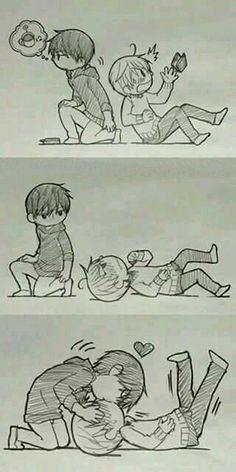 Sekai-ichi Hatsukoi Takano x Onodera, *_* Comic Anime, Manga Anime, Anime Love, Anime Guys, Junjou Romantica Misaki, Haikyuu, Yuri, Anime Lindo, Shounen Ai