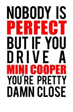 Drive a Mini Cooper Art Print More