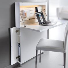 desk / home office / Ultraflacher Sekretär