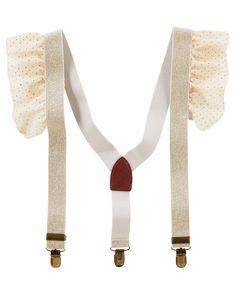 Baby Girl Ruffle Suspenders | OshKosh.com