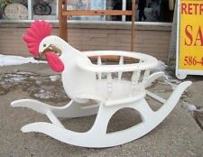Rooster Rocking Chair