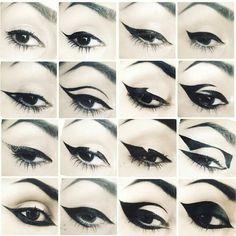 Shop Kat Von D& Tattoo Liner. Explore more of Kat Von D& collection of. Makeup Eye Looks, Eyeliner Looks, Eye Makeup Art, Goth Eye Makeup, Pastel Goth Makeup, Eyeliner Pencil, Black Eyeliner, Gel Eyeliner, Eyeliner Wing