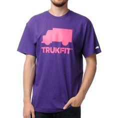 Trukfit Purple Tee Shirt