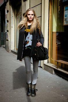 Cara Delevingne. www.wearelse.com