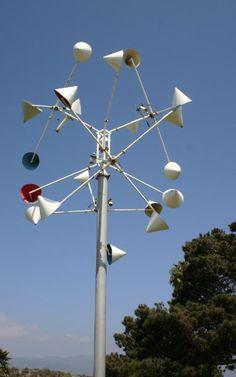 kinetic wind sculpture