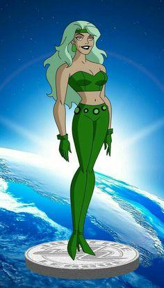 Dc Comics Women, Dc Comics Girls, Dc Comics Art, Marvel Girls, Heroes United, Dc Heroes, Bruce Timm, Dc Fire, Justice League Animated