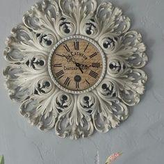 Roycycled clock... Chalk paint love #roycycled