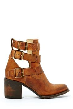 Freebird Rolling Buckle Boot - Shoes