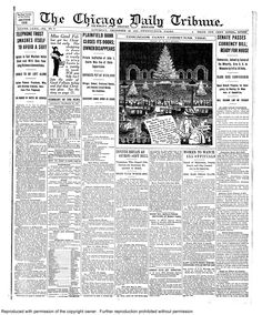 """Dec. 20, 1913: A limousine that was stolen in front of a Lake Shore Drive residence a day earlier was found on Canal Street in what is today the West Loop after an """"alert sleuth"""" who saw the story in the Tribune spotted the missing vehicle. It was reunited with its owner."""