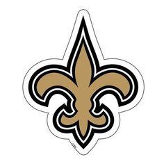 "New Orleans Saints 6"" Team Logo Magnet"