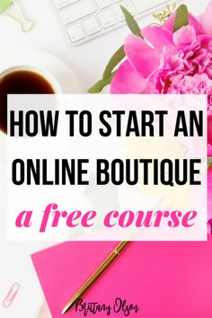 How To Start A Boutique - How To Start An Online Boutique? - A free course for starting an online boutique. Boutique Bootcamp is a step-by-step guide to launching your online shop and sourcing inventory for your boutique. Starting An Online Boutique, Selling Online, Uk Online, Boot Camp, Fashion Business, Wholesale Boutique Clothing, Importance Of Time Management, Drop Shipping Business, Shops