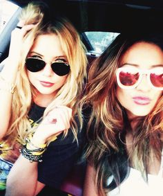 """ I'm not saying that she isn't mature, but she always brings out that kid in me.""  - Shay Mitchell talks about Ashley Benson"