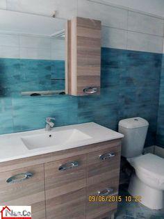 Ολική Ανακαίνιση σπιτιού στο Μπουρνάζι - Μπάνιο Πριν και Μετά Vanity, Bathroom, Dressing Tables, Washroom, Powder Room, Vanity Set, Full Bath, Single Vanities, Bath