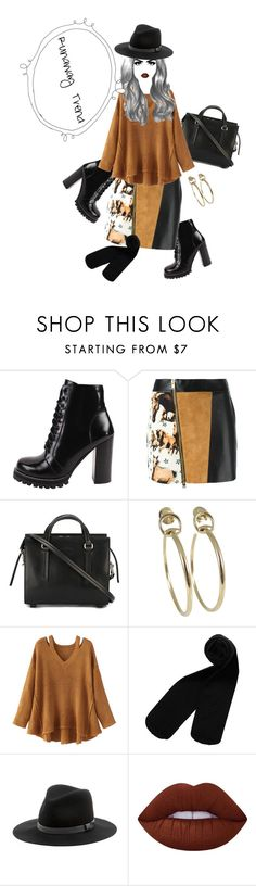 """""""Runaway Trend"""" by fayebell on Polyvore featuring Jeffrey Campbell, FAUSTO PUGLISI, Rick Owens, Gucci, WithChic, Monki, Sole Society and Lime Crime"""