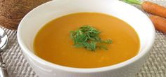 Perfect Weekday Dinner: Curried Carrot Coconut Soup Hero Image