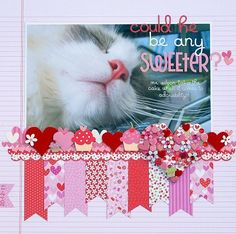 Could He Be Any Sweeter by Melinda Spinks featuring Doodlebug Sweet Cakes Collection - Scrapbook.com
