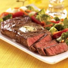 """Omaha Steaks Boneless Strips are a customer favorite. Cut from the heart of the loin, these well-marbled steaks are incredibly juicy and full of flavor. They're often called """"the ultimate cookout steak"""". #OmahaSteaksHoliday"""