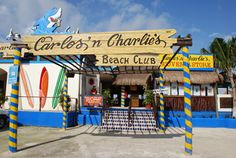 Carlos and Charlie's in Cozumel was so much fun....whistles blowing and shots aflowing....fun!