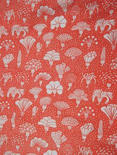 VTG 70s Marimekko Bed Sheet Bedding | eBay. Made by UNI for Sears Finland, Copyright 1977 Marimekko Oy.