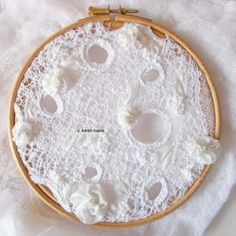 lace cloth, hand embroidery, hand created