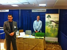 The men of the US Green Chamber at the SDGE energy showcase, May 2012