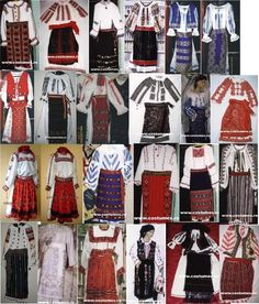 Photo by Sabina Solonaru Hungarian Embroidery, Folk Embroidery, Embroidery Patterns, Tribal Costume, Folk Costume, Ethnic Fashion, Fashion Art, Folk Clothing, My Heritage