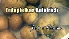 Kartoffelkäse (Erdäpfelkas) Aufstrich selber machen - Rezept Dips, Potatoes, Vegetables, Food, Easy Meals, Recipies, Sauces, Potato, Essen