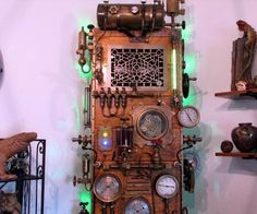 Steampunk Frankenstein PC