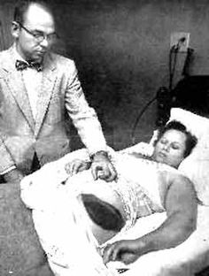 On November 30, 1954, the Hodges Meteorite became the first extraterrestrial object on record to strike a human being, bouncing off a wooden radio console owned by Oak Hill, Alabama resident Ann Elizabeth Hodges, and deflecting onto her as she napped on her couch.  The Sylacauga meteorite is the first documented extraterrestrial object to have injured a human being in the USA.