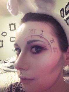 White Rabbit Halloween Makeup TinyBows.co