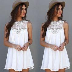 Summer Casual Beach Dress