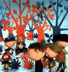 The Magic Roundabout was brilliant. Just before the news each night.