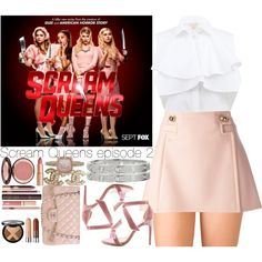 A fashion look from October 2015 by outfitsbynina9 featuring Giambattista Valli, Frankie Morello, Forever 21, Chanel, Cartier, Pomellato and Charlotte Tilbury