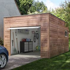 Garage en bois Nano-Home Brico