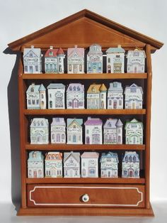 """My mother had a collection of """"Sheila"""" houses and although this isn't quite the same thing, she would have liked this idea, too."""