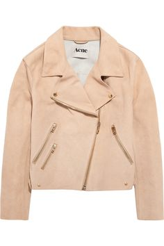Rita suede aviator jacket by Acne...ughh want SO MUCH