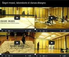 Alessandro Lumare: SEGNI MOSSI, laboratorio di danza-disegno