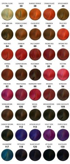 Information About Hair Color Chart Clairol Natural Instincts At