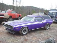 71 dodge challenger wagon... ok i would drive it, but at some point that roof would be coming off for a working custom convertible top :)