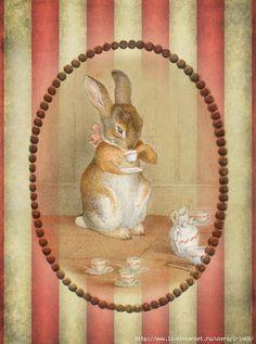 Винтажные Картинки по мотивам Beatrix Potter. Обсуждение на LiveInternet - Российский Сервис Онлайн-Дневников