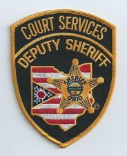 Court Services Deputy Sheriff Patch (OH)